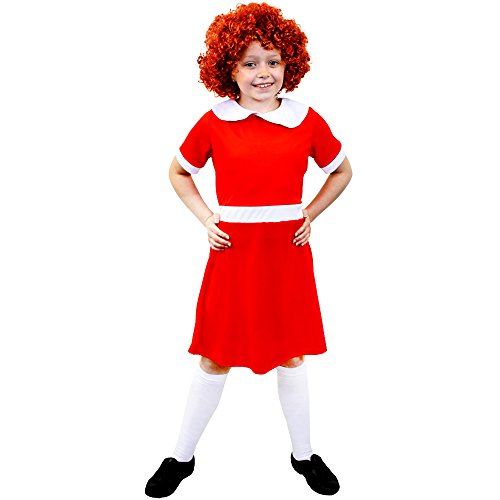 (ILOVEFANCYDRESS I love Fancy Dress ilfd7073 m Mädchen Little Orphan Kleid (Medium))