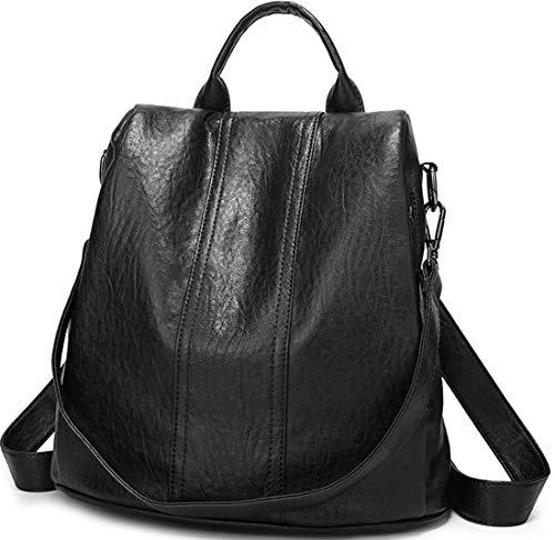rbig Doppelnutzen Schoolbag Diebstahlsicherung Classic Tragetaschen Grosse Kapazität Reißverschluss Reiserucksack Wild Messenger Bag ()