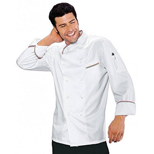Giacca da Cuoco Italianchef cotone satinato no stiro (S)