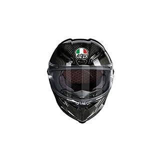 AGV Motorrad-Helm Pista GP R E2205Solid PLK, Glossy Carbon, MS