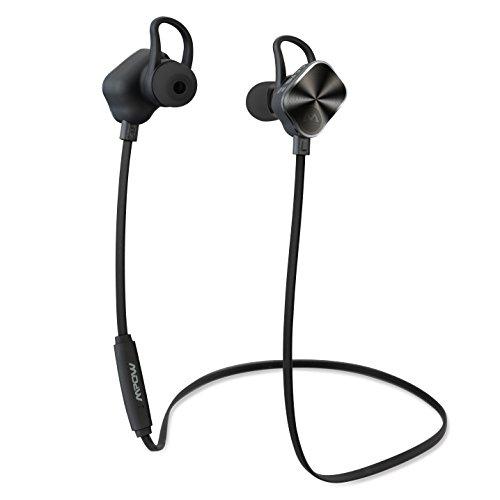 Mpow Magneto Bluetooth v4.1 Kopfhörer Wireless Stereo In Ear Freisprech-Headset Ohrhörer mit apt-X, CVC 6.0 für iPhone Galaxy IOS & Android Smartphones