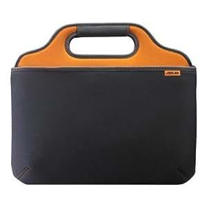 asus o2xygen housse pour ordinateur portable 10 orange gris import royaume uni. Black Bedroom Furniture Sets. Home Design Ideas