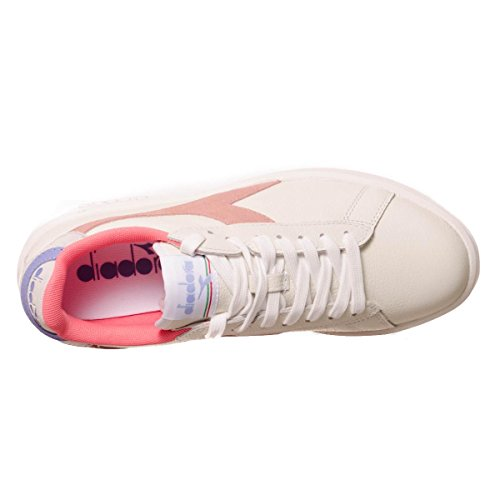 Diadora Sneakers Game Wide L per Donna Bianco/albicocca