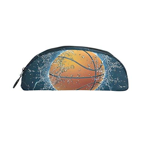 zzkko Wasser Basketball Reißverschluss Pen Bleistift Tasche für Kinder Mädchen Jungen Jugendliche Erwachsene - Baseball-bürostuhl