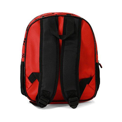 *Karactermania Ladybug Split-3D Backpack (Small) Sac à dos enfants, 31 cm, 8.5 liters, Rouge (Red) Offre de prix