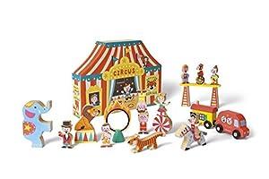 Janod - Circo Story Box Universo de madera (J08520)