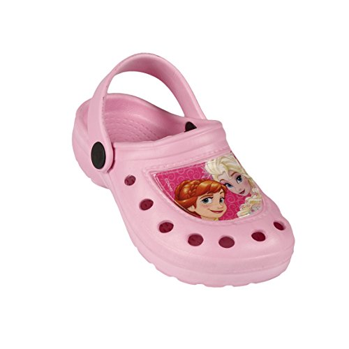 FROZEN Die Eiskönigin Sandalen Clogs Pantoffeln Schuhe rosa pink 24-31 (34/35, rosa)