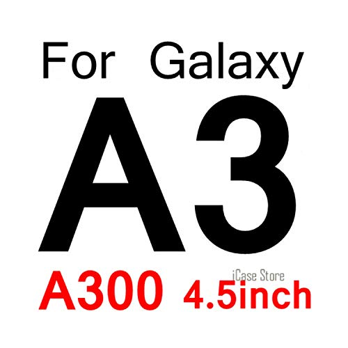 Vikimen Ausgeglichenes Glas-Film, Schirm-Schutz,0.26Mm 9H Tempered Glass for Galaxy A3 A5 J1 Mini J2 J3 J5 A310F A510F J120 J320 J510F Screen Protector Film A3 2015 1 pcs