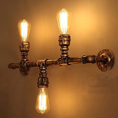 Antike Kupfer-drei-licht (BOSSLV Jahrgang 22 Breite Wandleuchte Industrie Licht Indoor Wandleuchte Antikes Kupfer 3 Licht)