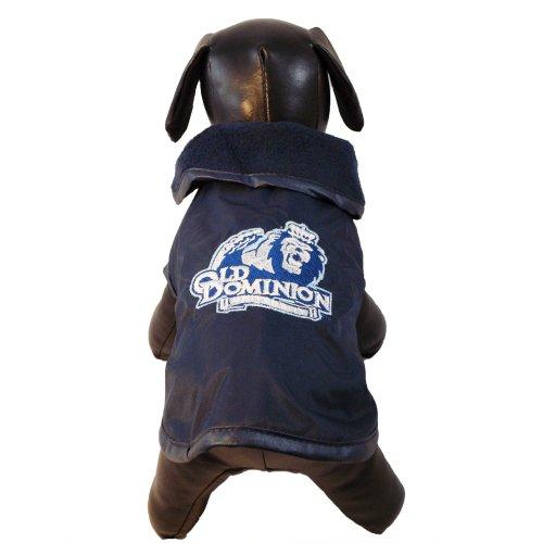 Erwachsene Oberbekleidung (NCAA Old Dominion Monarchs Allwetterfeste Schutz-Oberbekleidung für Hunde, Unisex-Erwachsene, Team Color, X-Small)
