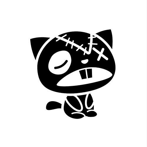 Handmade Produkte 22X23 Cm Zombie Katze Wc Aufkleber Wandtattoo Dekoration Kunst 2Pcs