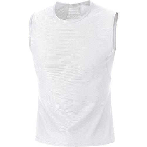 GORE WEAR Herren Base Layer Singlet Shirts, White, S