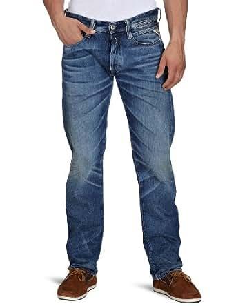 Replay Herren Jeans  Newdoc MA975 .000.502 904, Gr. 29/32, Blau (denim)