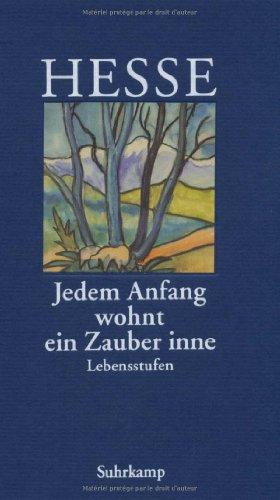Buchseite und Rezensionen zu '»Jedem Anfang wohnt ein Zauber inne«' von Hermann Hesse
