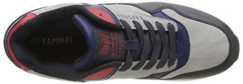 Kaporal Knyt, Baskets Basses Homme Bleu (Marine Gris)