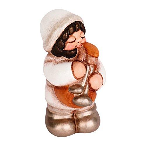 Thun presepe della famiglia figure zampognaro, ceramica, multicolore, 5.5x4.6x7.6 cm