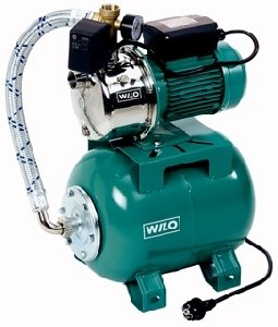Wilo Hauswasserwerk Wilo-Jet HWJ 20 L 203 EM mit Druckschalt