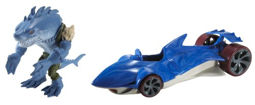 Hot Wheels Battle Force 5 Water Slaughter Vehicle and Sever Driver by Hot Wheels