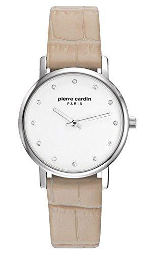 Pierre Cardin Reloj Analogico para Mujer de Cuarzo con Correa en Cuero PC108152F01
