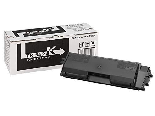 Preisvergleich Produktbild Kyocera TK-580K Tonerkartusche 3.500 Seiten,  schwarz, 1T02KT0NL0 passend für Kyocera ECOSYS P6021CDN,  FSC5100DN,  FSC5150DN