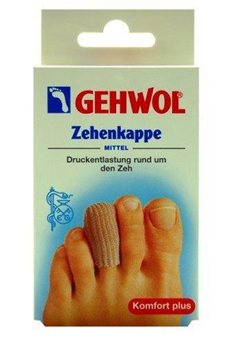 Gehwol 1026805 Zehenkappe Polymer-Gel-Kissen, mittel