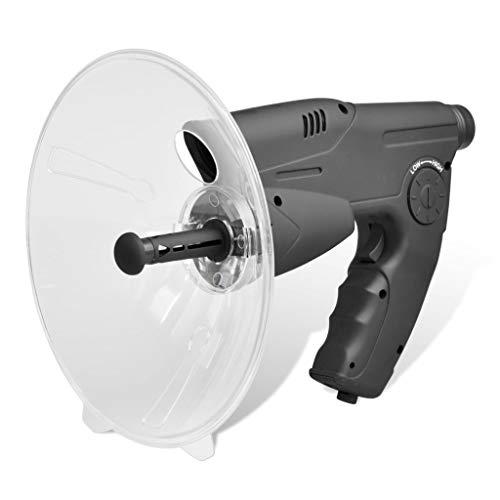 mewmewcat Geräuschverstärker Richtmikrofon Abhörgerät Verstärkung Geräte Schwarz 25 x 21 x 21 cm