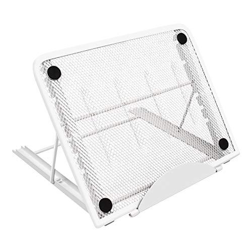 KENTING Soporte de la almohadilla de la caja de luz, multifuncional 7 puntos de ángulo Patín de soporte de trazabilidad evitado para el portátil Huion LED Light Table A4 LB4 L4S (blanco)