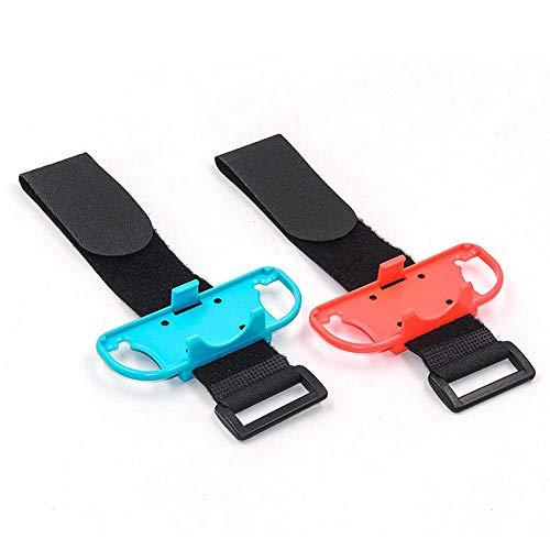 Just Dance 2019-Dance Kinder-Komfortables Armband, kompatibel mit Nintendo Switch, verstellbarer, elastischer Gurt mit Platz und Atmungsaktivität für Joy-Cons linke und rechte Griffe -