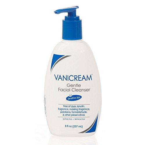 Vanicream Gentle Facial Cleanser with Pump Dispenser, 8 Ounce by Vanicream