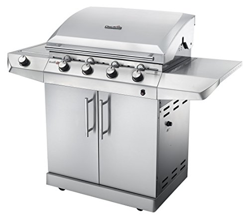 Char-Broil Performance Series T47G - 4 Burner Gas Barbecue - stainless steel design, very high quality