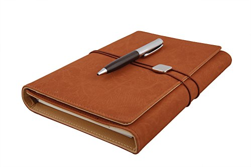 coi ethinic brown business undated planner / diary with pen with free pen COI ethinic brown business undated planner / diary with pen with Free Pen 41F 2BNphpeuL