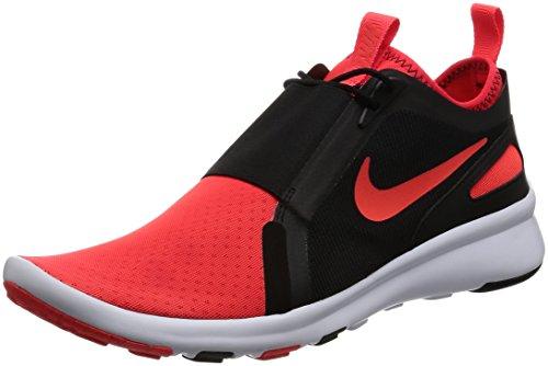 Nike Herren Current Slip On Trainer, Rot Bright Crimson/White, 43 EU