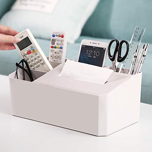 Aufbewahrungskistedesktop Aufbewahrungsbox Kosmetik Lagerregal Kunststoff Große Kapazität Wohnzimmer Büro Fernbedienung Trümmer Sortierbox