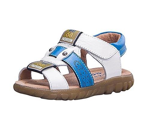 Sandale Enfant - Sandales Bout Ouvert Garçon - Doux Chaussure