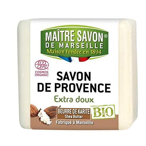 MAITRE SAVON Savon de Provence Beurre de karite - 100 g