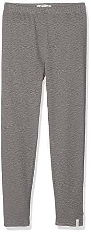 ESPRIT Mädchen Regular Fit Leggings RK24013, Einfarbig, Gr. 128, Grau (Mid Heather Grey 260)