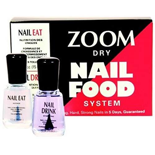Dry Nail Food System - Nail Eat & Nail Drink (x2 15ml)