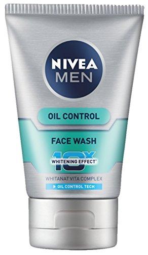 Nivea Men Oil Control Face Wash (10X whitening), 100gm