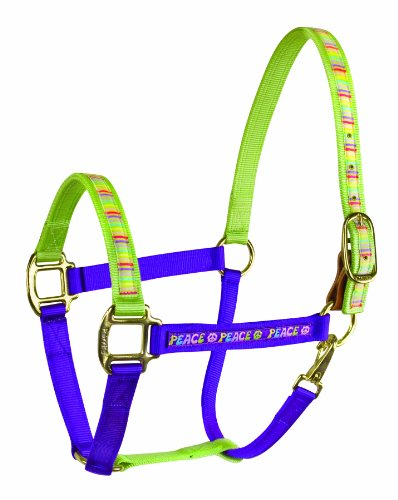 perris-horse-color-duo-ribbon-nylon-halter-peace