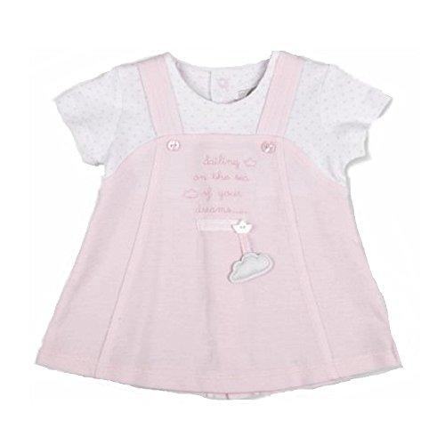 TUTTO PICCOLO Baby Mädchen (0-24 Monate) A-Linie Kleid rosa Rose Gr. 6 Monate, Rose Tutto Piccolo
