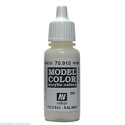 WWS P10 Vallejo Mod?le Couleur Ivoire Peinture Acrylique VAL918 70918 17ml