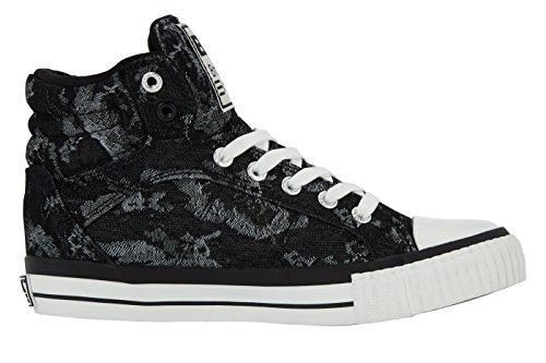 British Knights DEE DONNE ALTE SNEAKERS Nero/Grigio