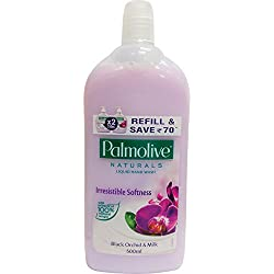 Palmolive Naturals Hand Wash Refill - 500 ml (Black Orchid and Milk)