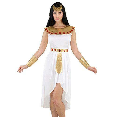 Imagen de disfraz de cleopatra emperatriz egipcia reina de egipto para mujer fiesta vestido