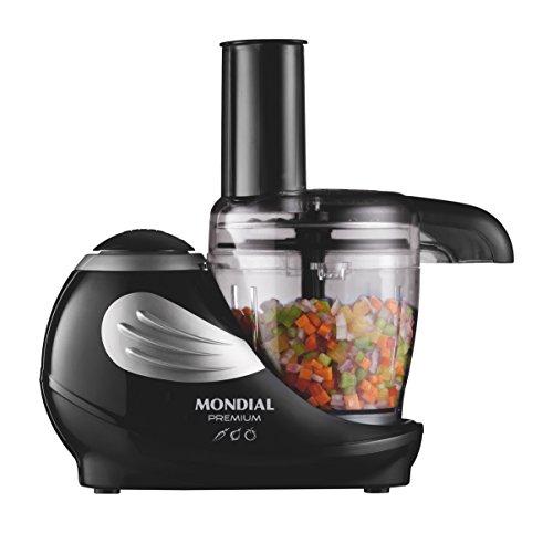 Mondial Let's Cook Premium Processor - Procesador de alimentos, color negro width=