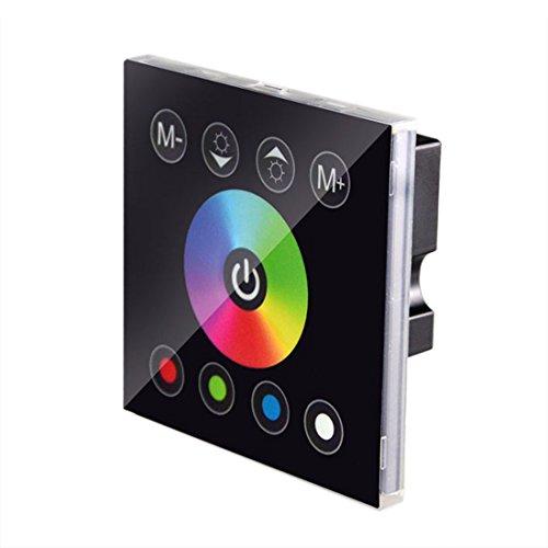 JOYLIT Touch Panel RGBW 4Kanäle Remote Controller Kontroller Steuerung für RGBW LED Strip Streifen 12A DC 12V-24V