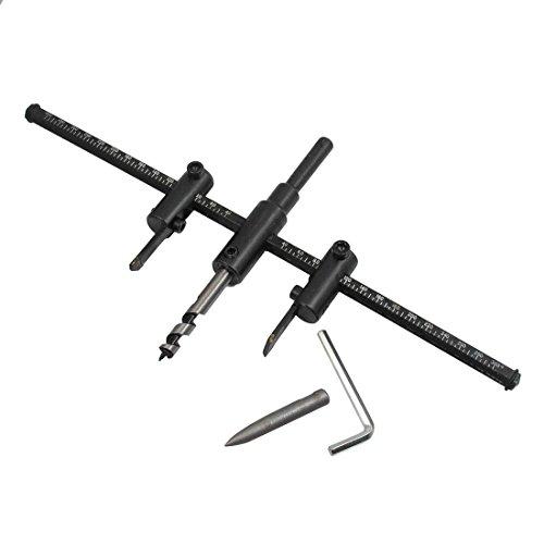 HSS 10mm Schaft 40mm bis 300mm Durchmesser Schneiden Verstellbare Kreisschneider Werkzeug