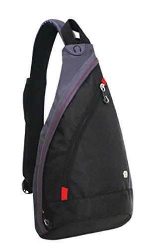 Wenger WG1092230 Body Bag Rucksack, 10 Liter, Schwarz