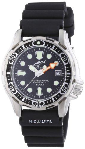 Chris Benz Unisex-Armbanduhr AnalogAutomatik Kautschuk CBAT-500-B
