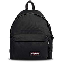 Eastpak Padded Pak'R Sac àdos, 40 cm, 24 L, Noir (Black)